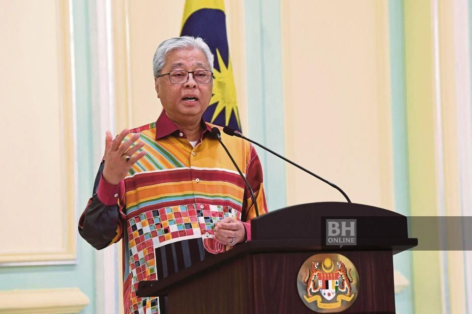 Datuk Seri Ismail Sabri Yaakob. - Foto BERNAMA