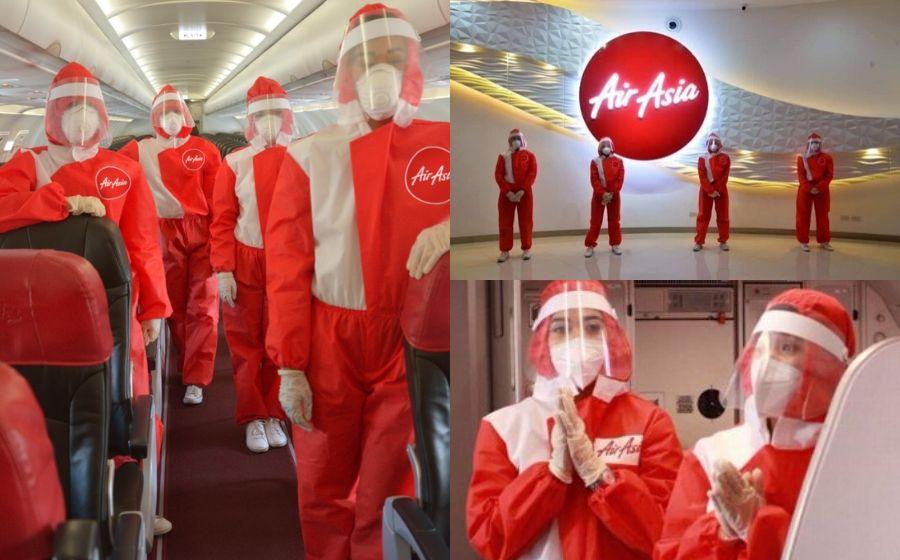 """""""Tak Dapat Nak Cuci Mata Dah"""" - Syarikat Penerbangan Ini Cipta Sut PPE Sendiri Untuk Kegunaan Kru Kabin"""