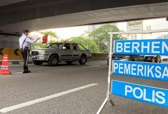 COVID-19: Sekatan jalan raya di Kuala Lumpur diperluaskan kepada ...