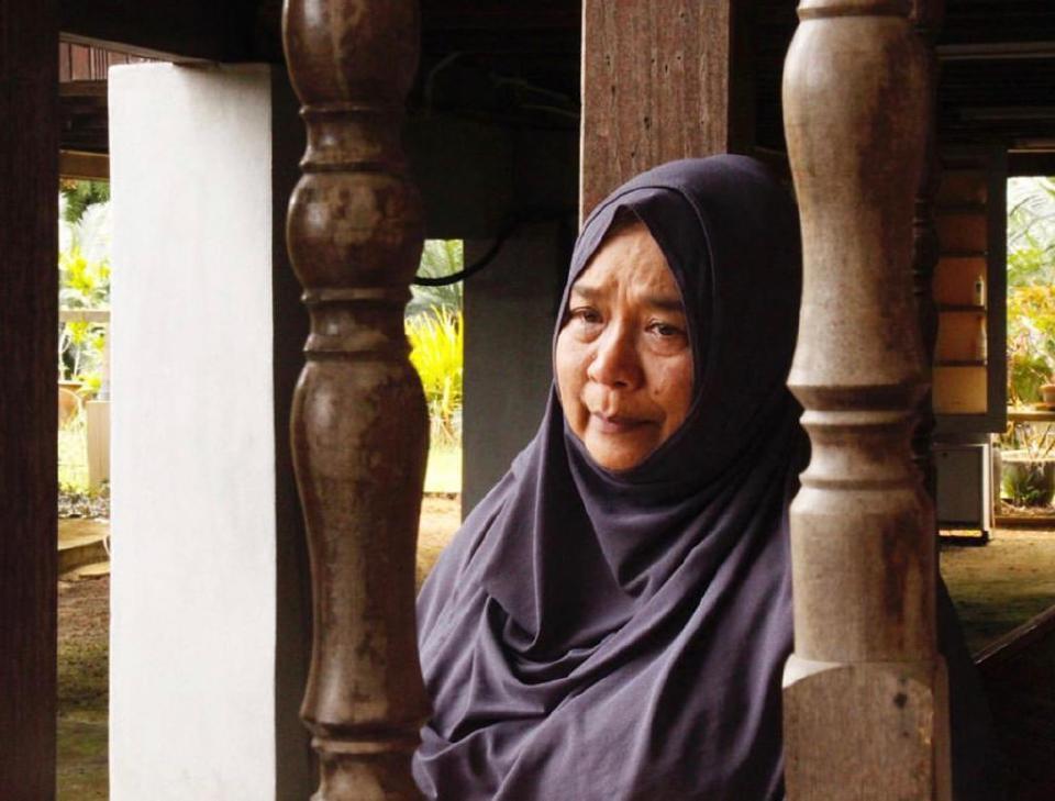 Wan Maimunah mudah menitis tanpa dipaksa atau dibuat-buat, lebih lagi saat berdepan dengan kemelut hidup. - Foto Wan Maimunah