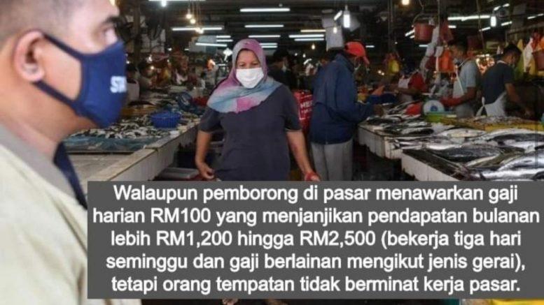 Gaji RM100 sehari, pekerja warga tempatan lari tak tahan selepas ...
