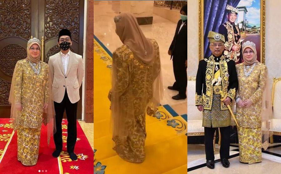 """Cantiknya, Baju Tuanku Macam Pari-Pari"" - Baju Kurung Raja Permaisuri Agong Di Parlimen Curi Tumpuan"