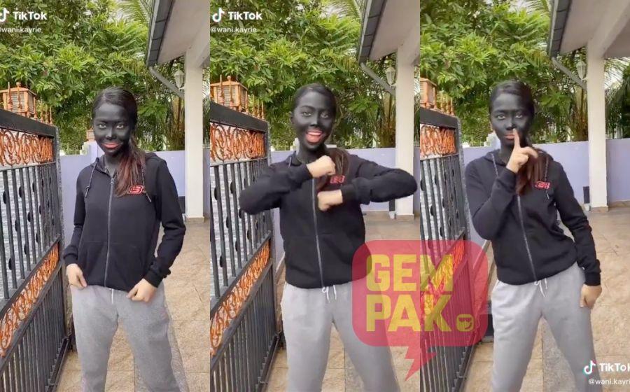 Terima Kecaman Selepas Muat Naik Video Berwajah Hitam, Wani Kayrie Beri Penjelasan