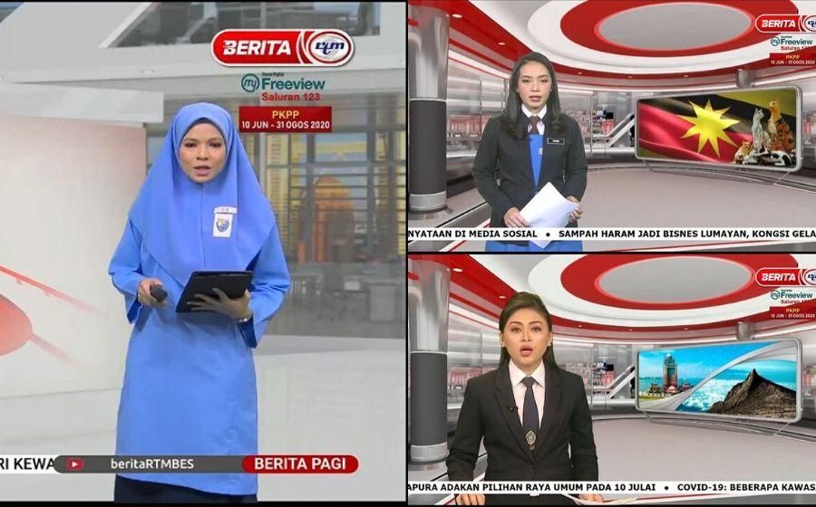 Tunjuk Sokongan Pada Pelajar, Semua Kakitangan RTM Pakai Baju Sekolah