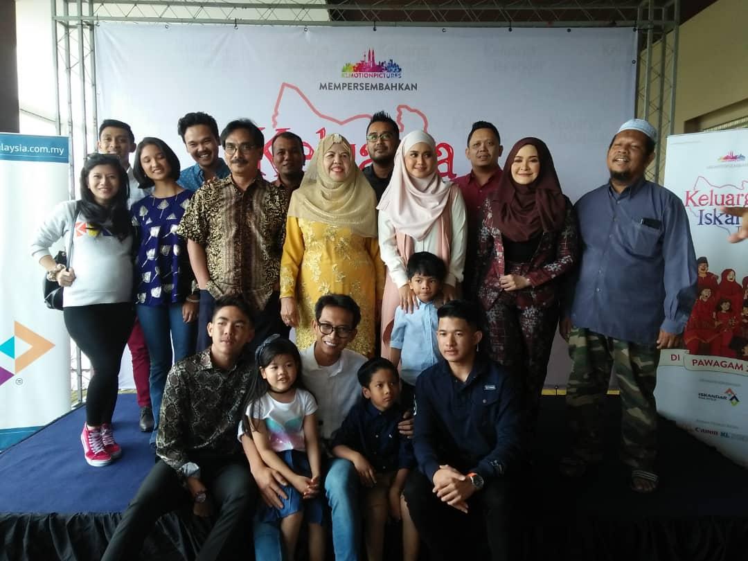 Keluarga Iskandar The Movie Buat Anita Baharom Menanti