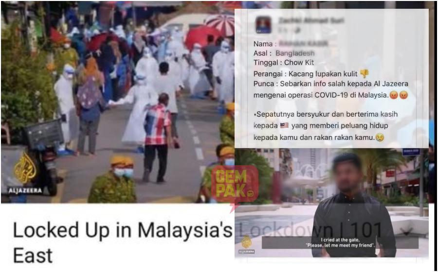 Kenyataan Pemuda Bangladesh Ini Kepada Al-Jazeera, Guris Hati Rakyat Malaysia