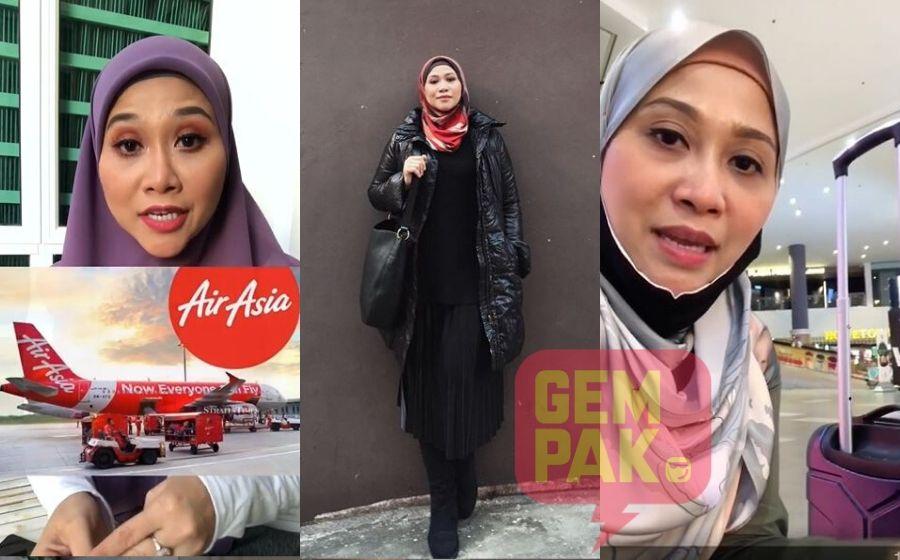 Akma AF3 Terkandas Di Airport Gara-Gara....