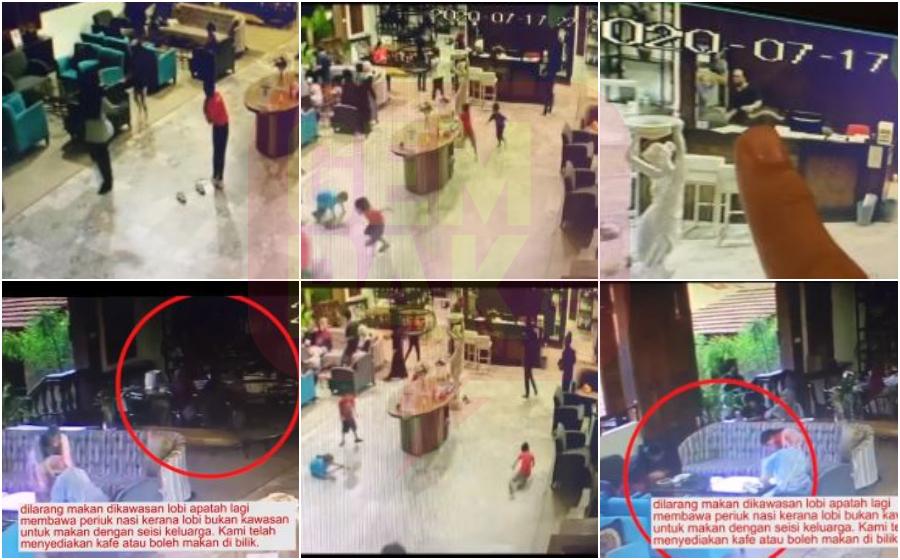 """Aliff Syukri Jawab Aduan Pelanggan – """"Skipping, Berlari & Main Bola Sepak Di Lobi…Jaga Adab Dan Etika Di Tempat Orang!"""""""