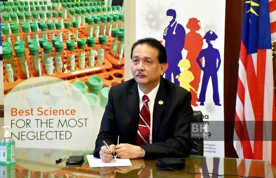 Ketua Pengarah Kesihatan, Tan Sri Dr Noor Hisham Abdullah.