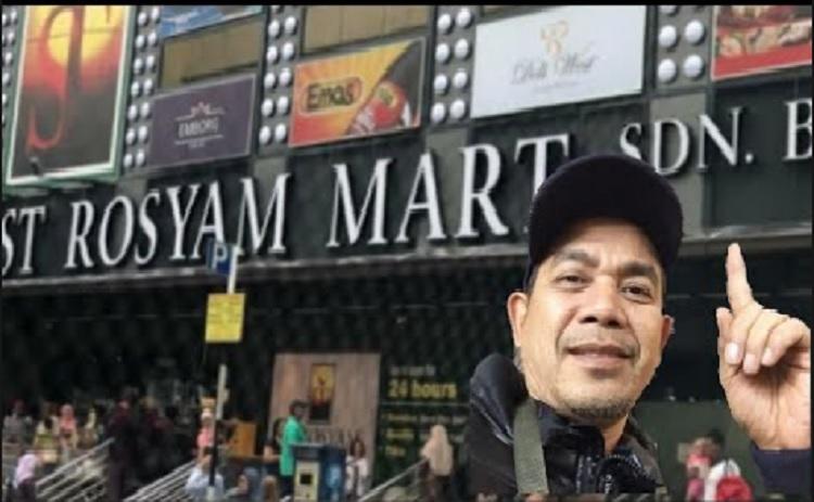 Kecoh Pasar Raya Rosyam Nor Dikuasai 90% Cina? - MYNEWSHUB